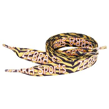 "Sublimation Shoelaces - 3/4""W x 36""L"